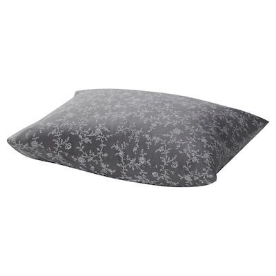 KOPPARRANKA Pillowcase, floral patterned, 50x60 cm