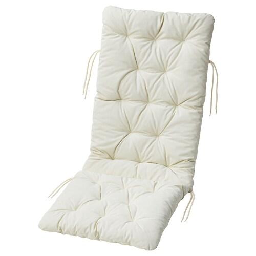 KUDDARNA seat/back cushion, outdoor beige 116 cm 45 cm 72 cm 42 cm 7 cm