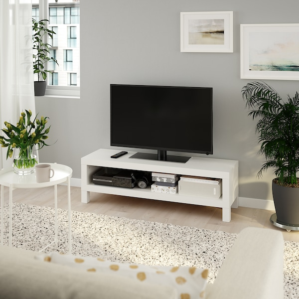 LACK TV bench, white, 120x35x36 cm