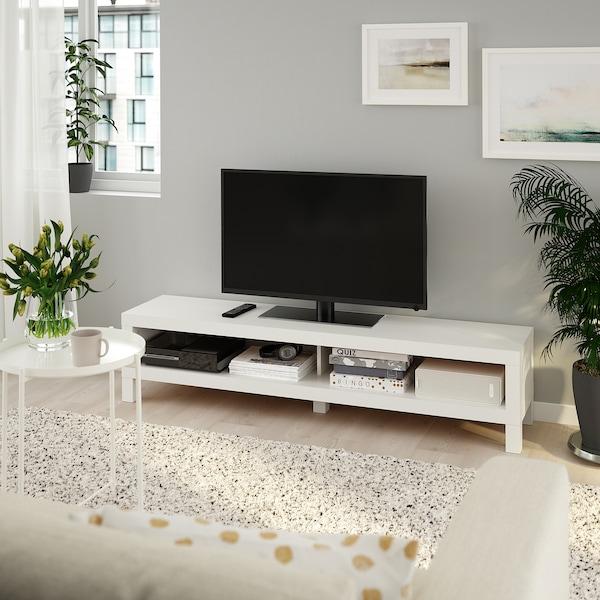 LACK TV bench, white, 160x35x36 cm