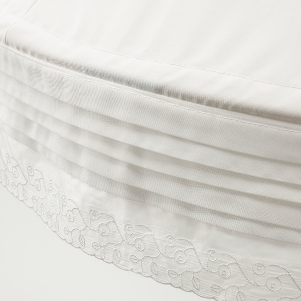 LEN ناموسية سرير, أبيض
