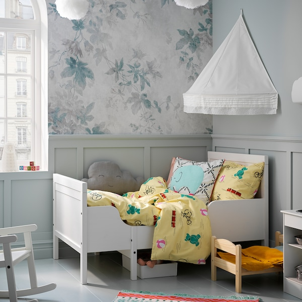 LEN bed canopy white 45 cm 79 cm 100 cm