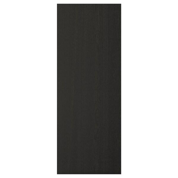 LERHYTTAN cover panel black stained 39.3 cm 104.5 cm 1.3 cm