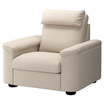 LIDHULT Armchair, Gassebol light beige