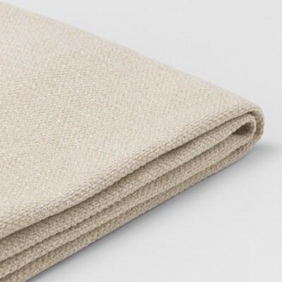 LIDHULT غطاء قسم كنبة-سرير بمقعدين, Gassebol بيج فاتح