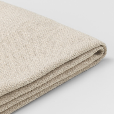 LIDHULT Cover for chaise longue section, Gassebol light beige