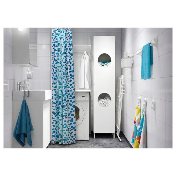 LILLÅNGEN خزانة الغسيل, أبيض, 40x38x179 سم