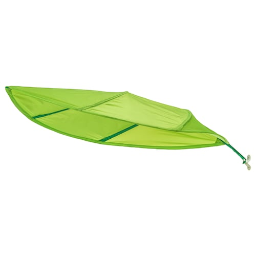 LÖVA bed canopy green 136 cm 90 cm