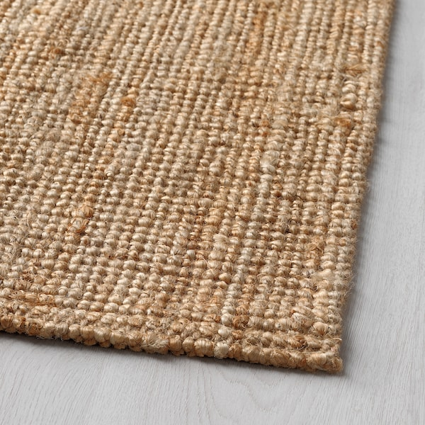 LOHALS Rug, flatwoven, natural, 80x150 cm