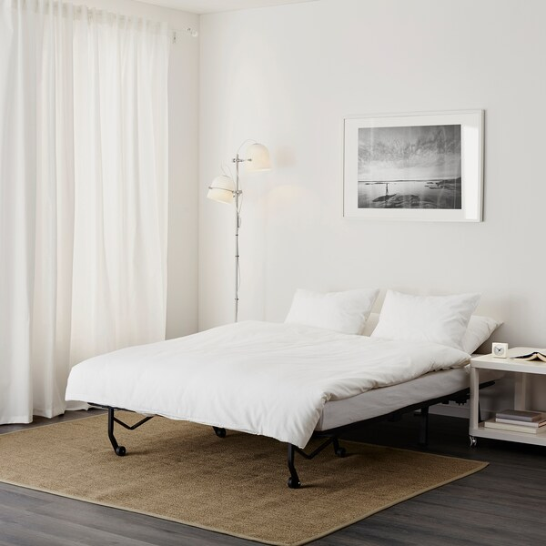 LYCKSELE HÅVET two-seat sofa-bed Ransta white 142 cm 100 cm 87 cm 60 cm 39 cm 140 cm 188 cm 188 cm 140 cm 10 cm