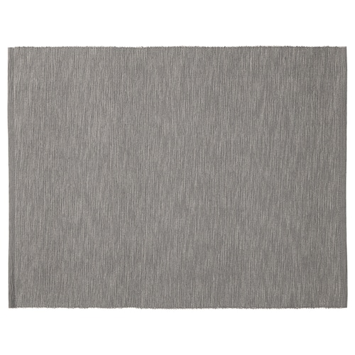 MÄRIT place mat grey 35 cm 45 cm