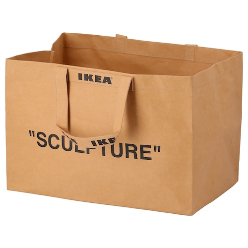 MARKERAD carrier bag, large natural 58 cm 37 cm 37 cm 15 kg 79 l