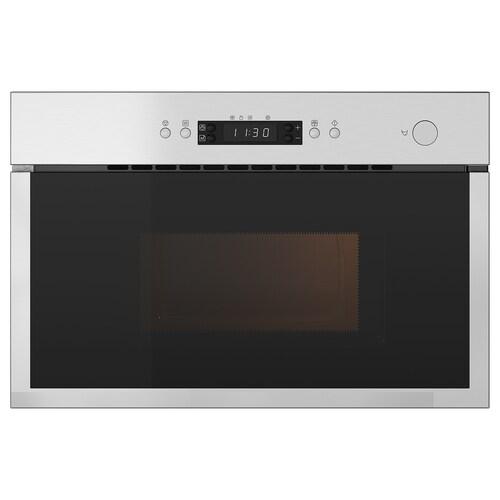 MATÄLSKARE microwave oven stainless steel colour 59.5 cm 59.5 cm 59.5 cm 32.0 cm 39.4 cm 1.3 m 20 kg