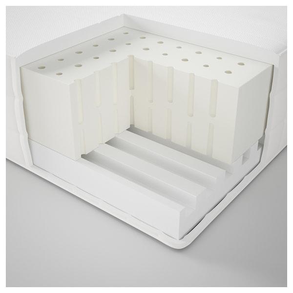 MATRAND Latex mattress, medium firm/white, 90x200 cm