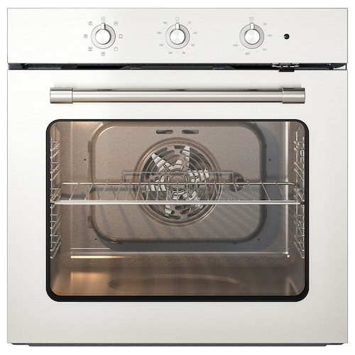 MATTRADITION forced air oven stainless steel 59.5 cm 55.0 cm 59.5 cm 0.9 m 30 kg
