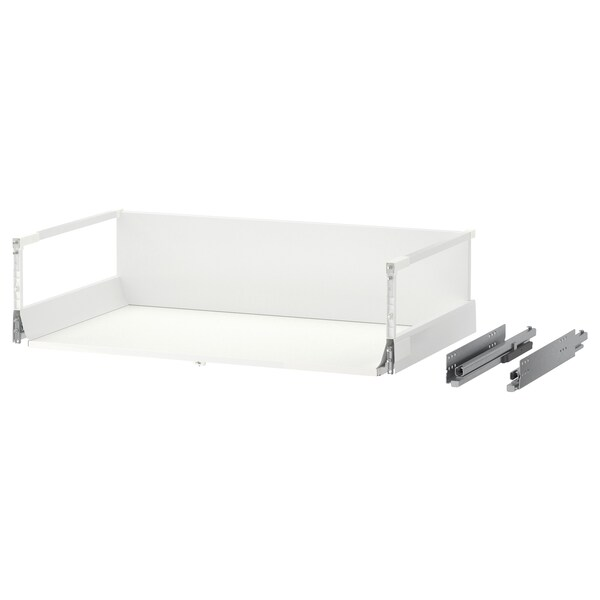 MAXIMERA Drawer, high, white, 80x45 cm