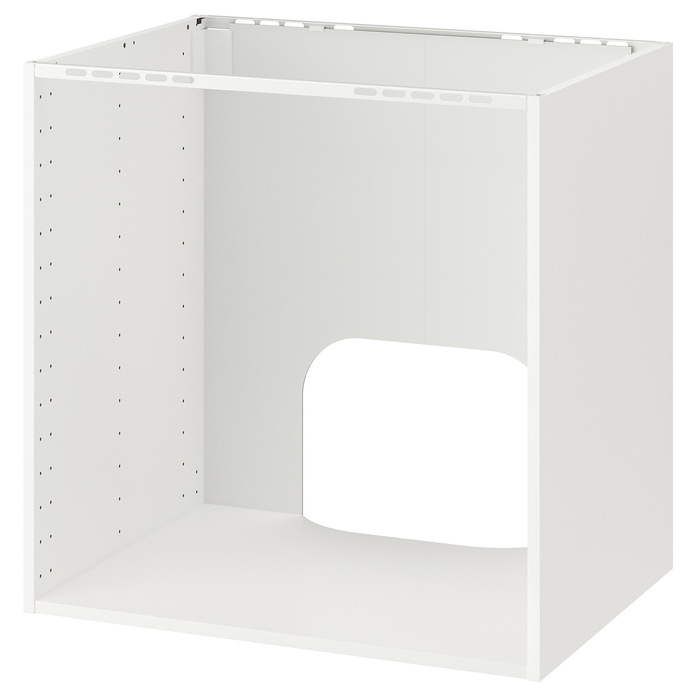 Metod Base Cabinet For Built In Oven Sink White Ikea