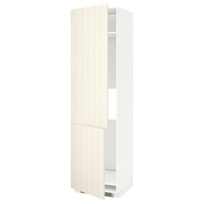 METOD خزانة عالية لثلاجة/فريزر+2 باب