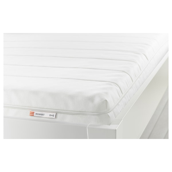 MOSHULT foam mattress firm/white 200 cm 160 cm 10 cm