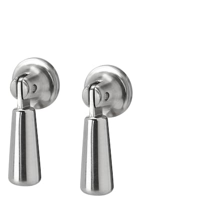 MOSSARYD Drop handle, stainless steel colour, 49 mm