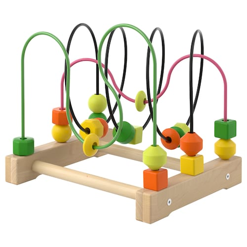 MULA bead roller coaster 31 cm 25 cm 28 cm