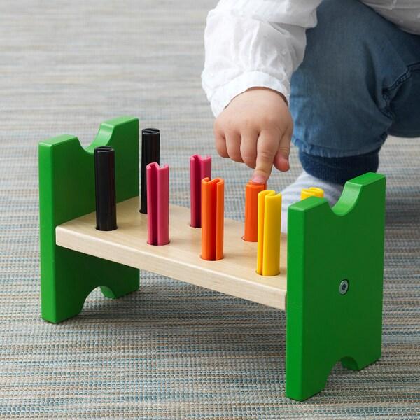 MULA لعبة، لوح خشب, متعدد الالوان