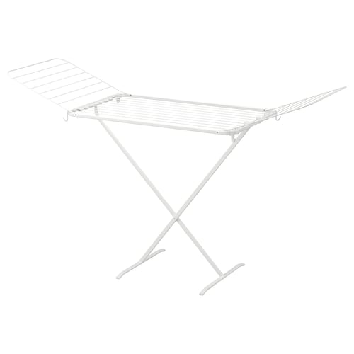 MULIG drying rack, in/outdoor white 173 cm 57 cm 103 cm
