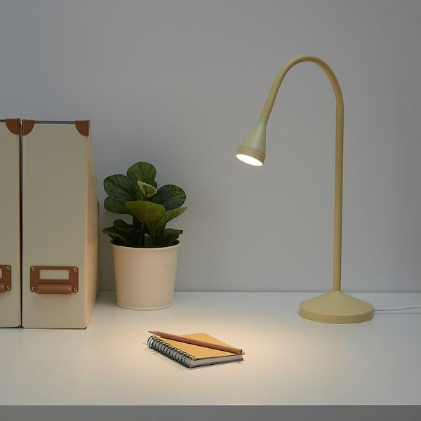 NÄVLINGE مصباح عمل LED, أصفر