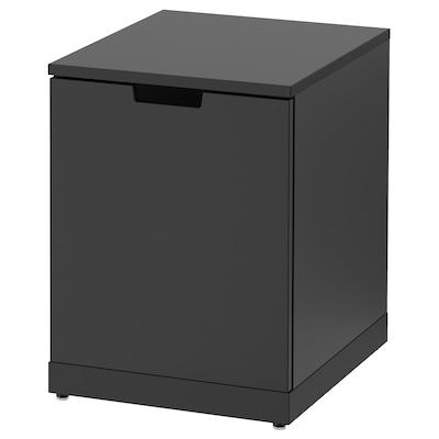 NORDLI خزانة ذات أدراج, فحمي, 40x54 سم