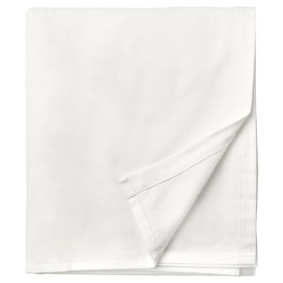 NORDRUTA شرشف, أبيض, 240x260 سم