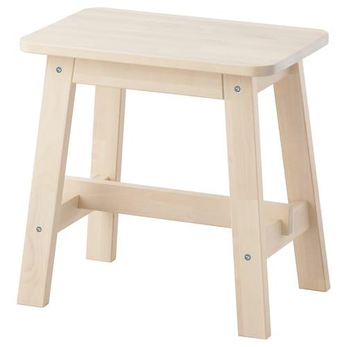 NORRÅKER stool birch 110 kg 45 cm 29 cm 45 cm 45 cm