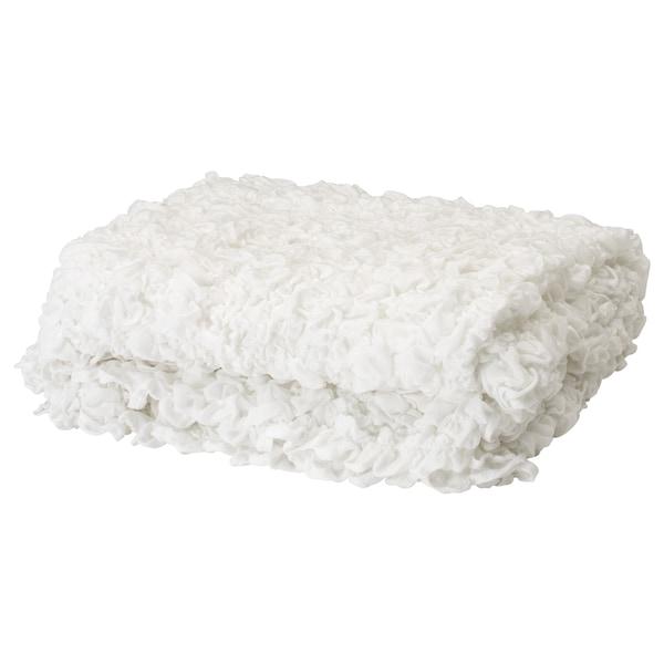 OFELIA blanket white 170 cm 130 cm