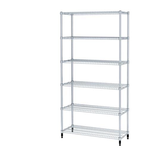 OMAR 1 shelf section 92 cm 36 cm 181 cm