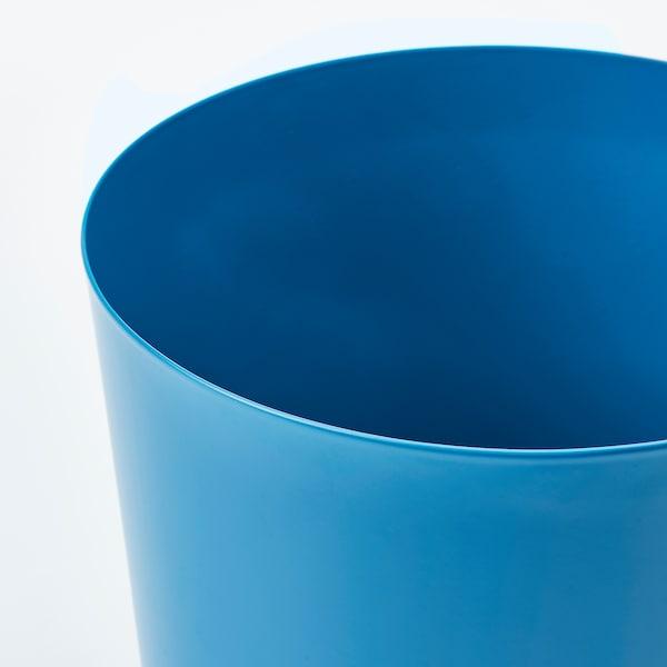 OMFÅNG Plant pot, in/outdoor blue, 15 cm