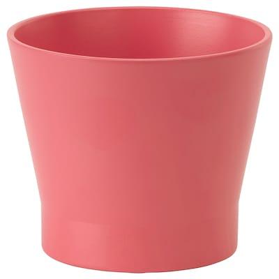 PAPAJA Plant pot, red, 9 cm