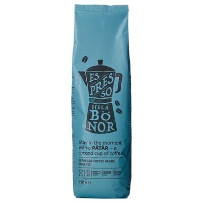 PÅTÅR قهوة اسبريسو، حبوب, عضوي/معتمدة من UTZ/ بن أرابيكا 100%