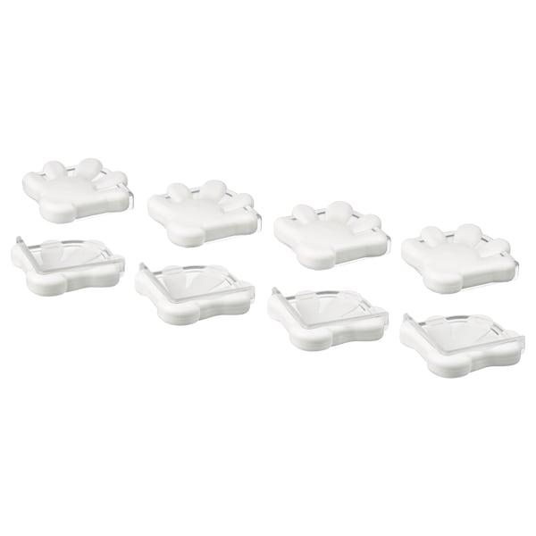 PATRULL corner bumper white 8 pieces