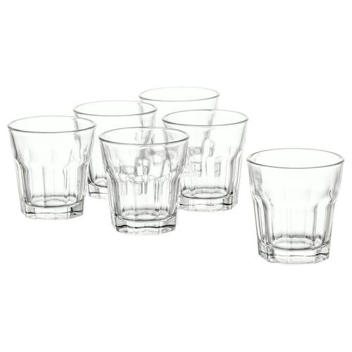 POKAL snaps glass clear glass 5 cm 5 cl 6 pieces