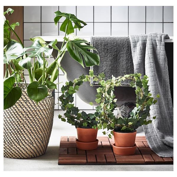 RÅGKORN آنية نباتات, داخلي/خارجي لون طبيعي, 24 سم