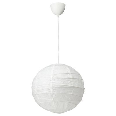 REGOLIT / HEMMA Pendant lamp, white