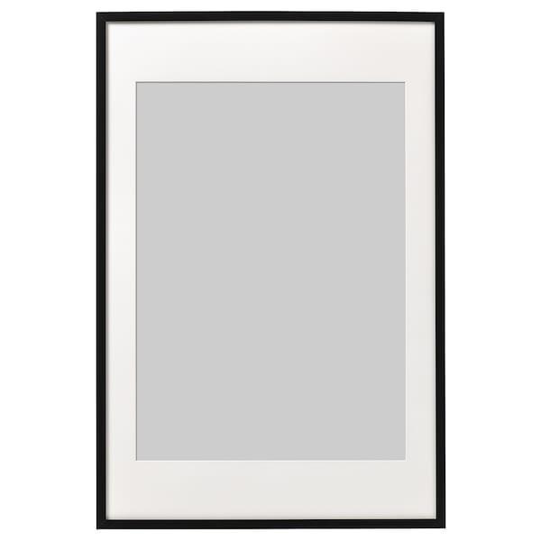 RIBBA Frame, black, 61x91 cm