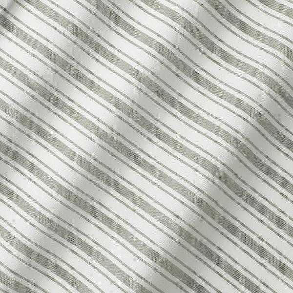 RINGBLOMMA Roman blind, white/green/striped, 100x160 cm