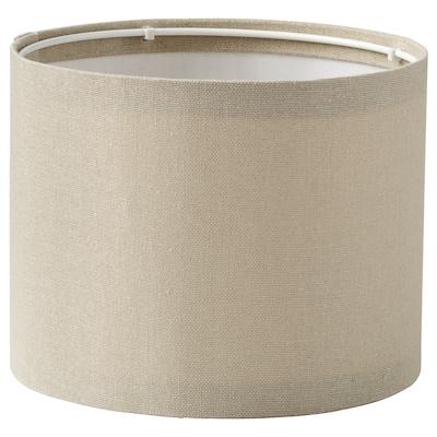 RINGSTA Lamp shade, beige, 19 cm