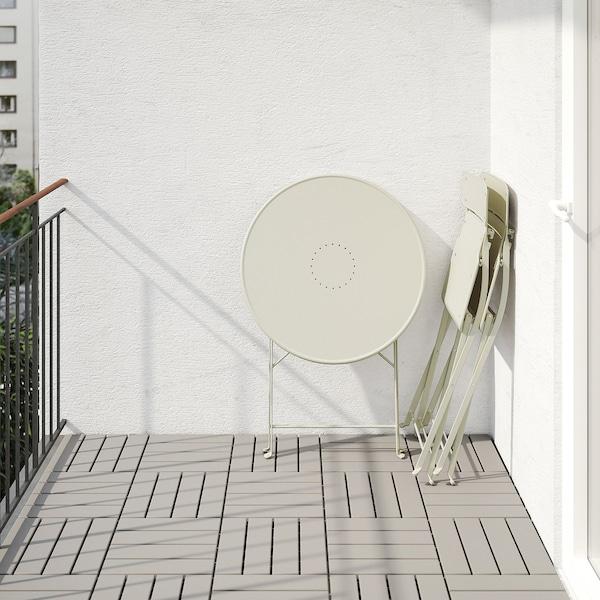 SALTHOLMEN طاولة+2كراسي قابلة للطي،خارجية