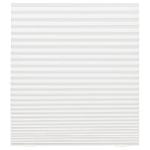 SCHOTTIS pleated blind white 190 cm 90 cm 1.71 m²