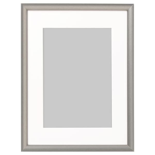 SILVERHÖJDEN Frame, silver-colour, 30x40 cm