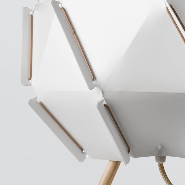 SJÖPENNA مصباح طاولة, أبيض