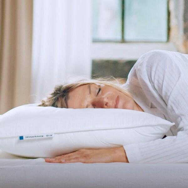 SKOGSFRÄKEN Pillow, high, 50x60 cm