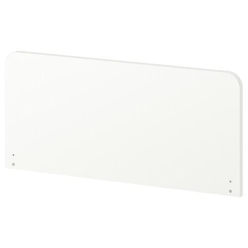 SLÄKT headboard white 90 cm 40 cm 2.2 cm 80 cm