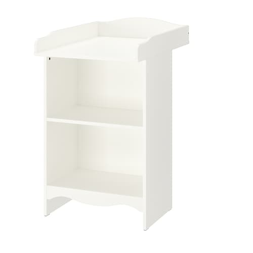 SMÅGÖRA changing table/bookshelf white 40 cm 81 cm 91 cm 104 cm 60 cm 15 kg